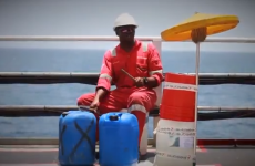 Ship's crew perform amazing music video for Toto's Africa