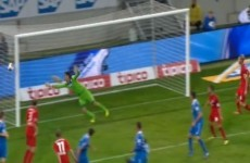 Incredible scenes! Stefan Kiessling scores a crazy ghost goal