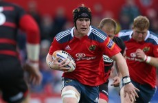 Late change for Munster as Dougall takes Ronan's place