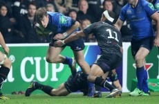 Macken confident he walked tall in O'Driscoll's Heineken Cup shoes