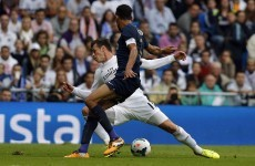 Gareth Bale falls over on Real Madrid comeback, wins penalty