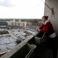 PICS: One of last Ballymun tower block residents prepares to move