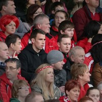 Seamus Coleman was at the Glenswilly-Killybegs game today