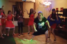 Russian woman's wedding dance is the greatest