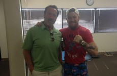 Snapshot: Arnold Schwarzenegger popped in to see Conor McGregor in rehab