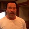Arnold Schwarzenegger re-enacts classic movie lines, films himself doing it