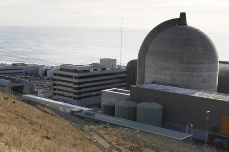 A nuclear power plant in California.