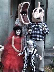 14 families who have totally nailed dressing up for Halloween