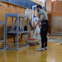 Are you into box jumps? Not as much as this guy