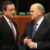 When Michael met Mario: Noonan in Frankfurt for bailout exit talks with ECB chief