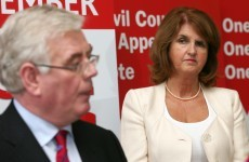 Burton: I'm perfectly happy to support Eamon Gilmore