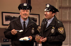 Alec Baldwin's 1980s cop show parody is hilarious and messy