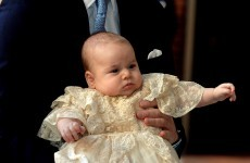 'Royal baby' Prince George is christened