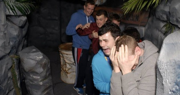 26 wonderful photos of terrified Irish lads in a haunted house