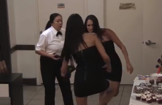 WATCH:  Jimmy Kimmel uses WWE twins to prank his security guard