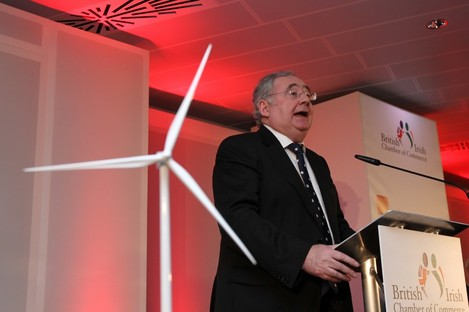 Labour Minister for Communications, Energy & Natural Resources Pat Rabbitte TD