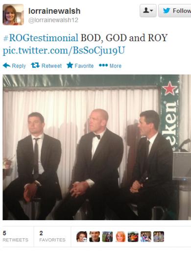 13 tweets to walk you through Ronan O'Gara's testimonial