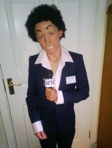 The best Marty Morrissey Halloween costume you'll see today