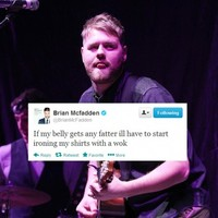 Tweet Sweeper: Brian McFadden irons his shirts with a wok