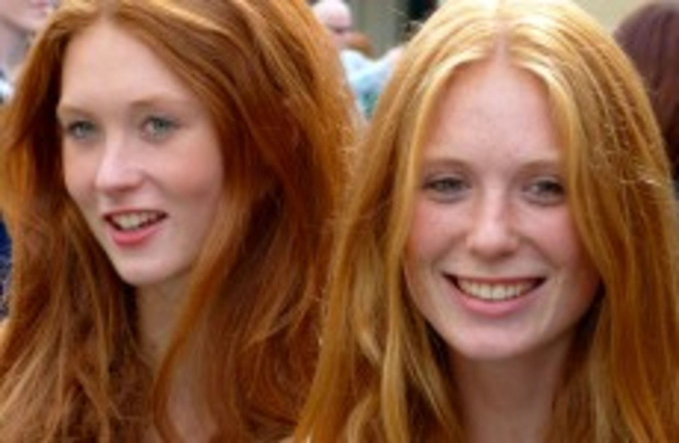Born in east la leggy redhead
