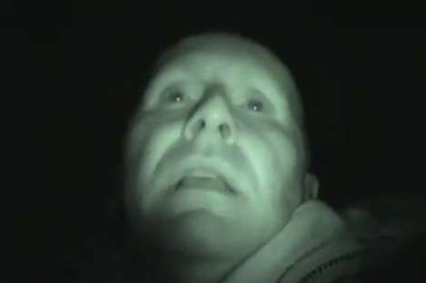 Keith from Irish Ghost Hunters at the Hellfire Club