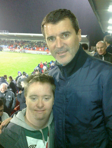 Roy Keane at Turner's Cross as Cork City beat the champs