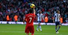 Check out Luis Suarez's brilliant hat-trick against West Brom today