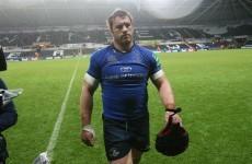 Irish injury worries mount as Sean O'Brien pulls out of Leinster match