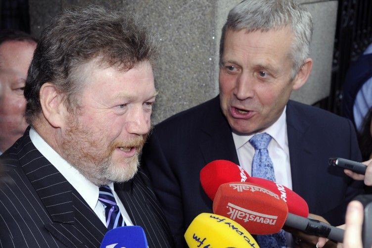 James Reilly and Fergus O'Dowd