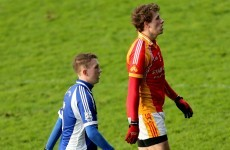 The two brothers who were opponents in yesterday's Mayo county final