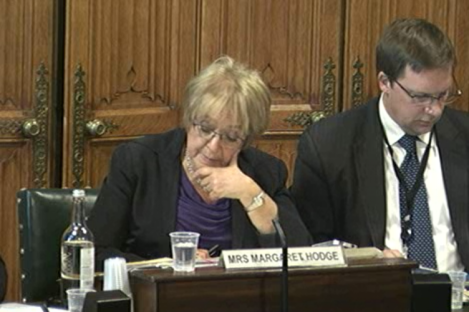 Commons' Public Accounts Committee chairwoman Margaret Hodge.