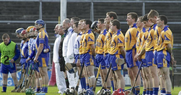 Portumna and Loughrea players in tribute to Niall Donoghue