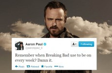 Aaron Paul is really missing Breaking Bad