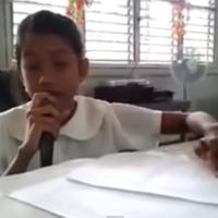 11-year-old blind girl sings Miley Cyrus' Wrecking Ball
