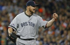 Red Sox close in on World Series with game five win