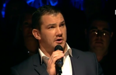 Munster's Damien Varley sings Lean on Me for charity