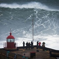 Monster Nazare waves deliver another potential world record