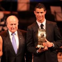 Sepp Blatter makes bizarre Ronaldo 'hairdresser' quip
