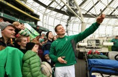 Selfies and screaming fans - Ireland's open training session at Lansdowne Road