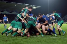 Winger O'Halloran on getting 'thrown in at the deep end' against Leinster's pack