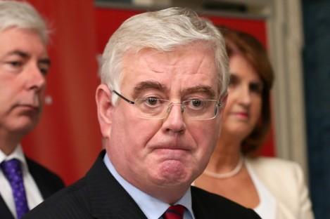 Labour Party leader Eamon Gilmore