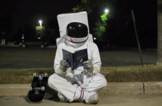 Commander Hadfield's son made a lovely ad for his dad's book
