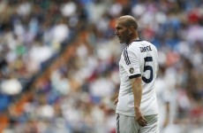 Video: Xabi Alonso nutmegs the great Zinedine Zidane
