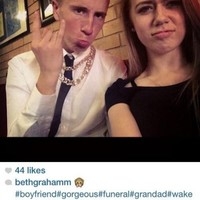Selfies at funerals now have their own dedicated Tumblr