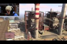 Gaming granny goes on a rant about British Gas while playing GTA V