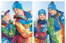 The new multi-coloured Sochi Olympics uniforms are pretty awful