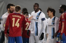 CSKA Moscow let off with partial stadium ban for Yaya Toure abuse