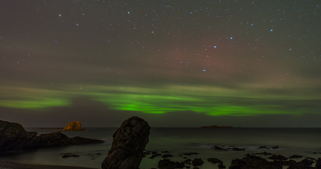 Northern Lights are still stunning in Donegal
