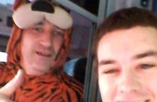 Hero Dublin Bus driver works in tiger onesie for Halloween