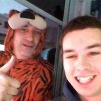 Hero Dublin Bus driver works in tiger onesie for Halloween